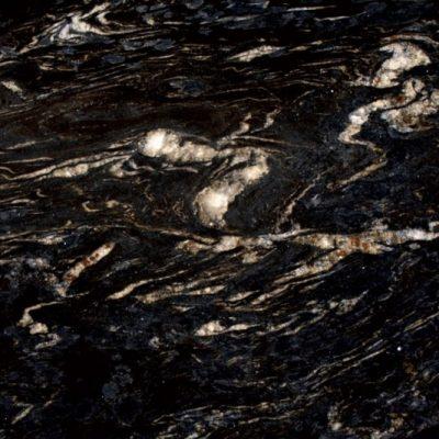 Titanium Black Leather